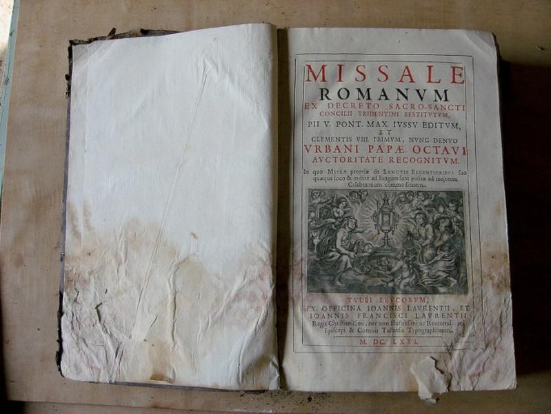 Livre liturgique : Missel
