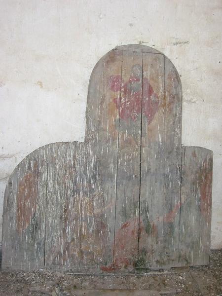 Panneau peint : Pentecôte (?)