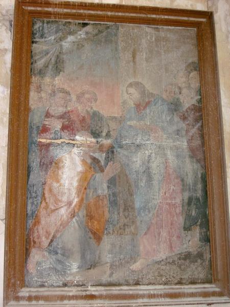 Tableau : Communion des apôtres