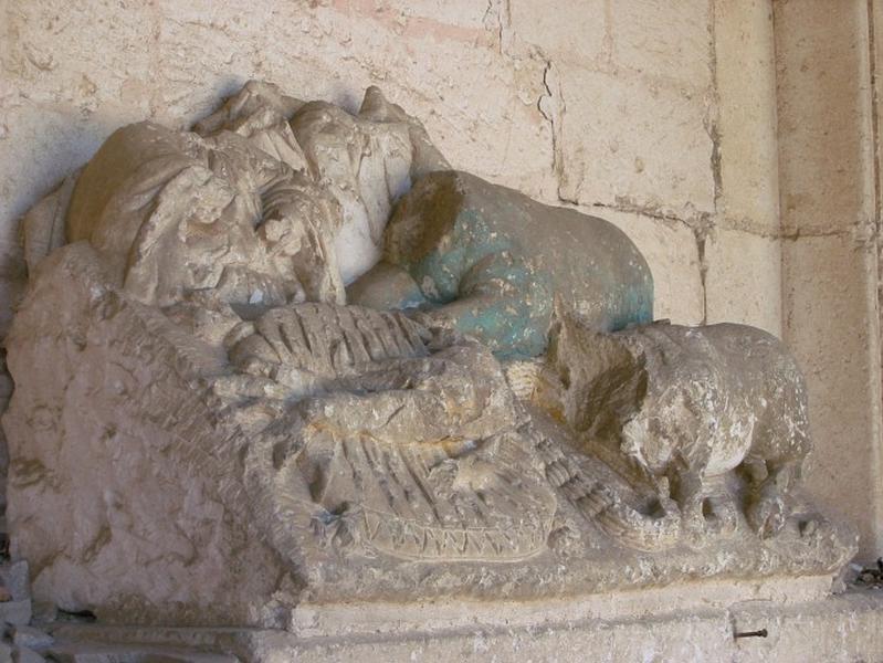 Groupe sculpté : Crèche