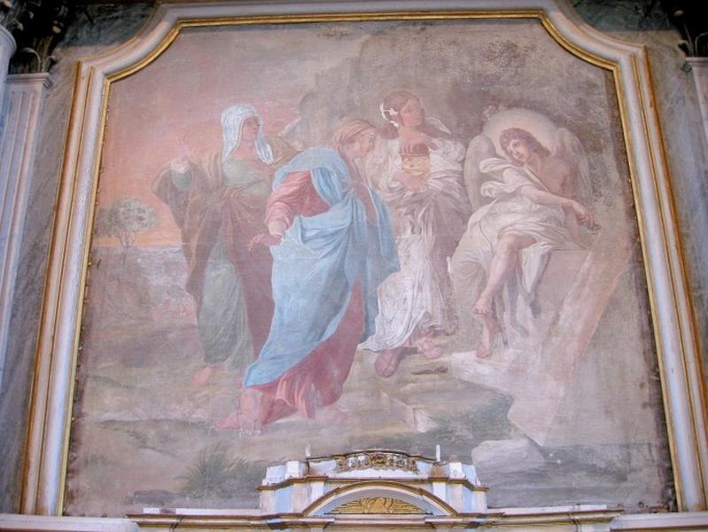 Tableau : les trois Marie