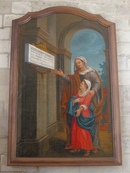 Tableau : Éducation de la Vierge
