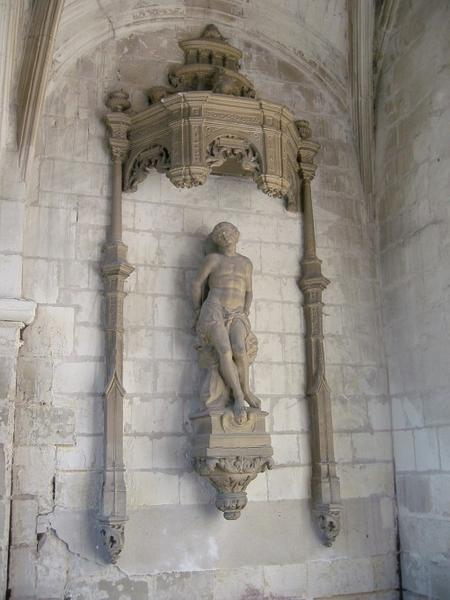 Statue (?) : Saint Sébastien