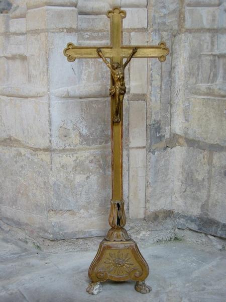 Croix de sacristie : Christ