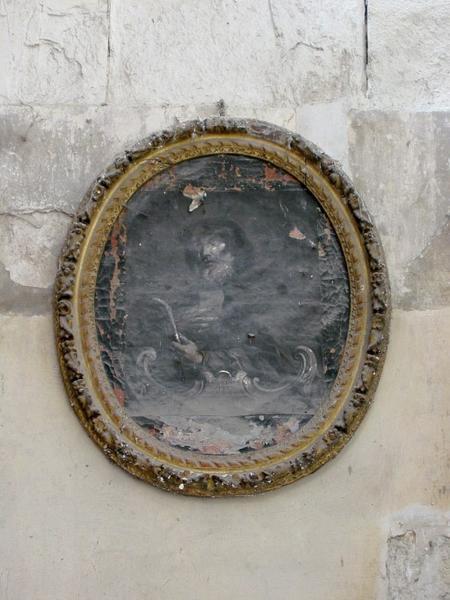 Tableau : Saint François de Paule, cadre