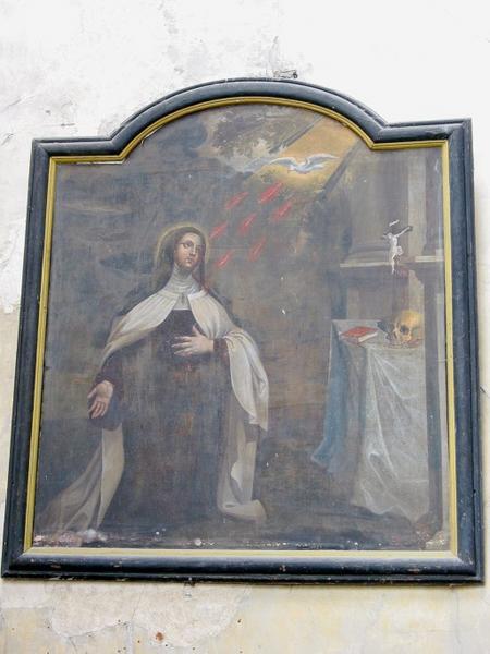 Tableau : Vision de sainte Thérèse