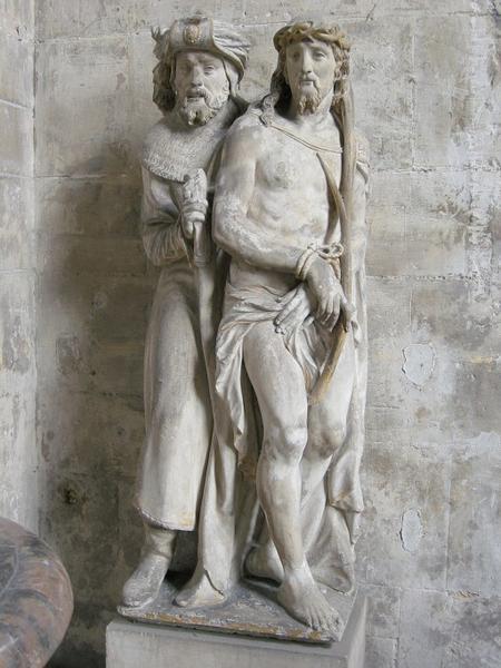 Groupe sculpté : Ecce Homo