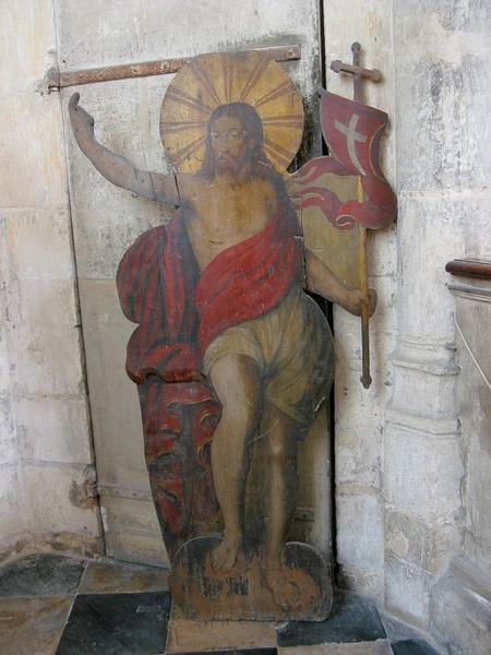Panneau peint : Christ glorieux