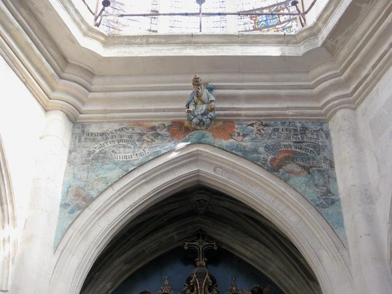 Peinture monumentale, ronde-bosse