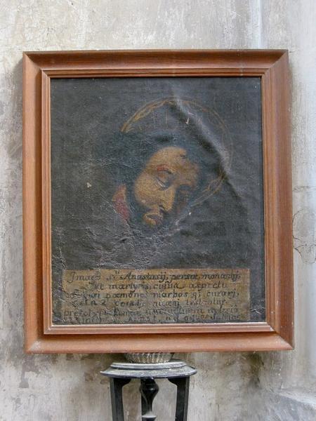 Tableau : Saint Anastase