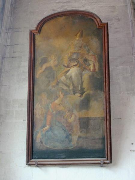 Tableau : Apparition de saint Nizier