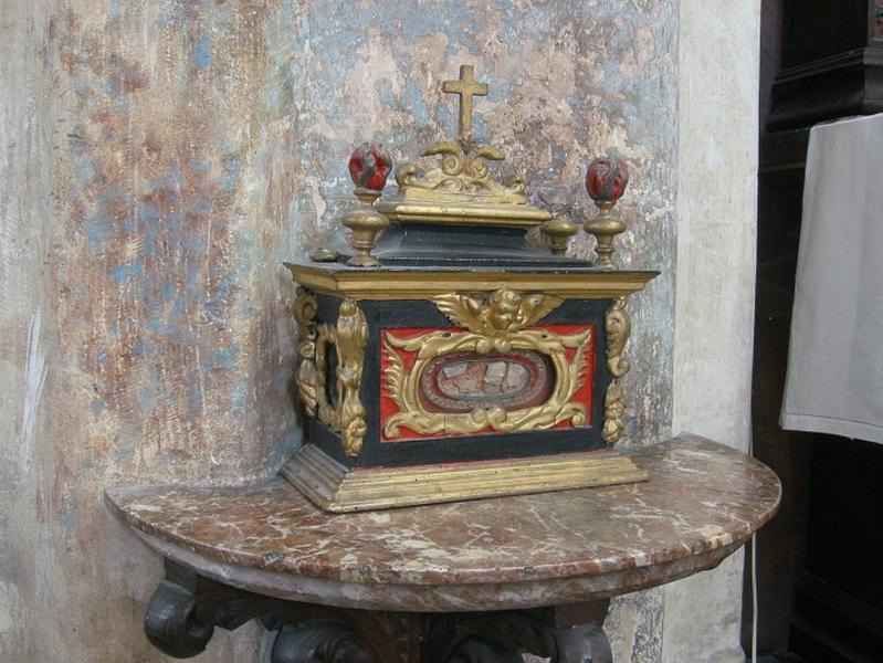 2 reliquaires de saint Successus (?)