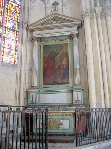 Autel et retable de la chapelle Saint-Paul