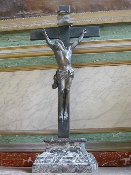 Croix d'autel : Christ