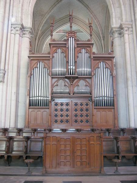 Buffet d'orgue (orgue de choeur)