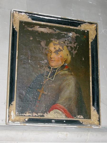 Tableau : Portrait de Mgr Etienne-Antoine de Boulogne, cadre