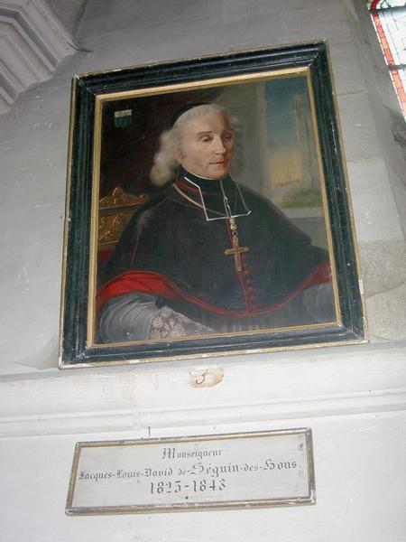 Tableau : Portrait de Mgr Jacques-Louis de Séguier des Bons