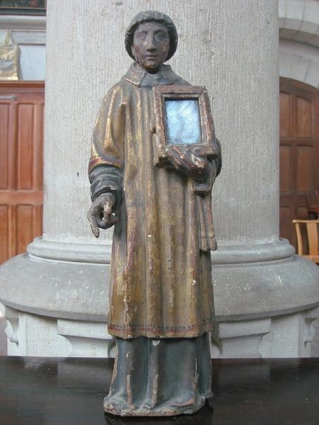 Statuette-reliquaire : Saint Étienne (?)