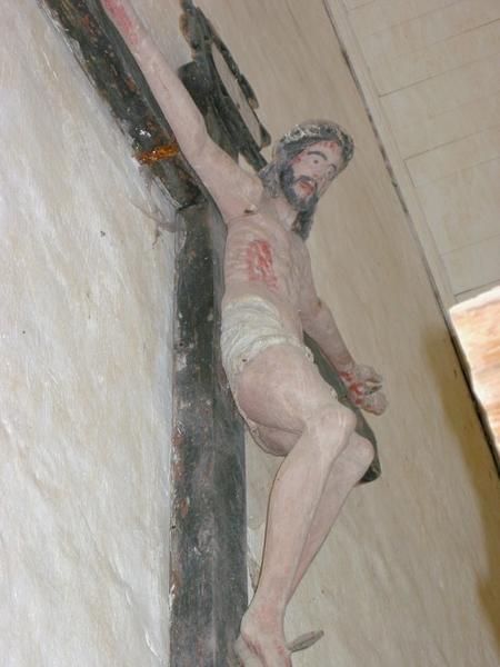 Statue (ronde-bosse) : Christ en croix