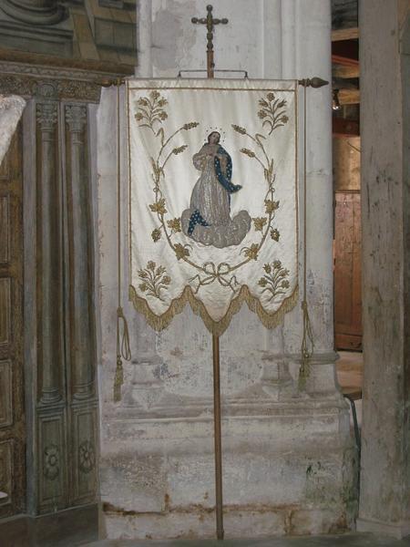 Bannière de procession : Immaculée Conception