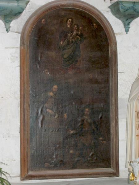 Tableau : Saint Crépin et saint Crépinien (?)