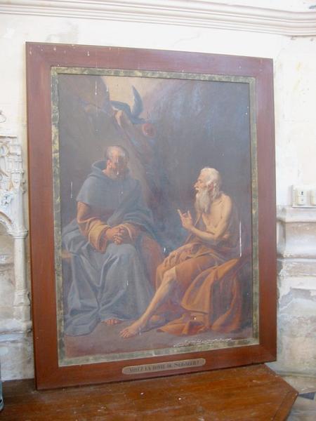 Tableau : Saint Paul et saint Antoine