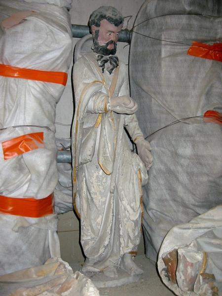 Statuette : Saint Jacques le Majeur (?)