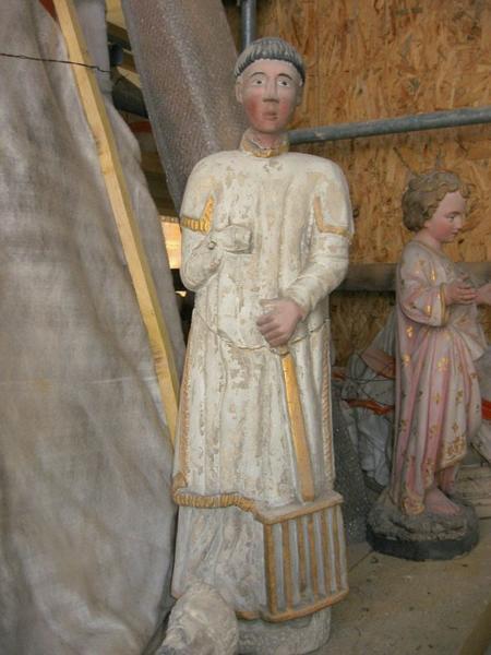 Statuette : Saint Laurent