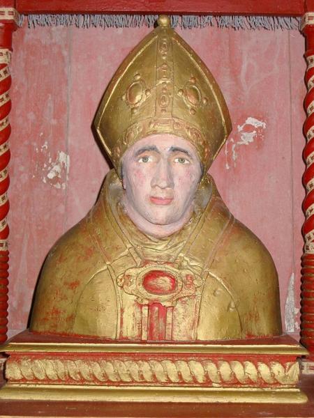 Buste-reliquaire : Saint Éloi