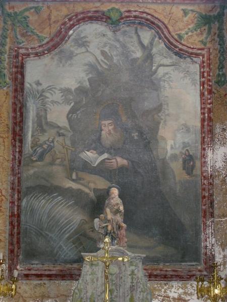 Tableau : Saint Antoine