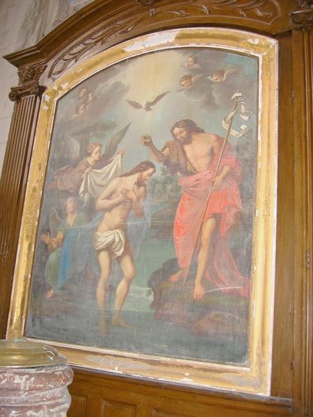 Tableau : Baptème du Christ