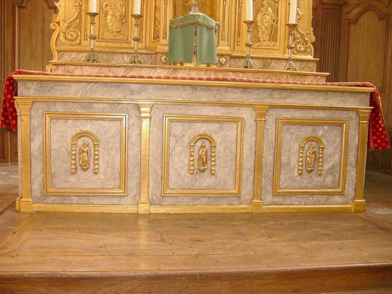 Maître-autel : Saint Pierre, saint Paul, Ecce Homo