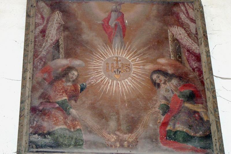 Tableau : Christ en gloire