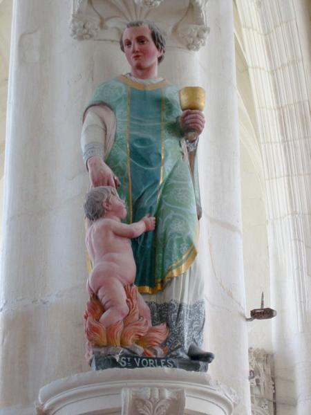 Statue : Saint Vorles