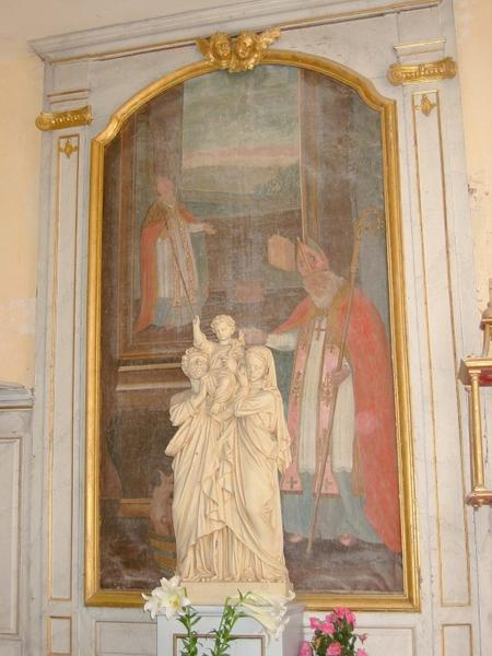Tableau : Saint Nicolas et les trois enfants