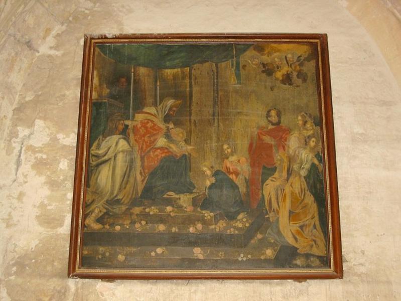 Peinture : Présentation de la Vierge au Temple