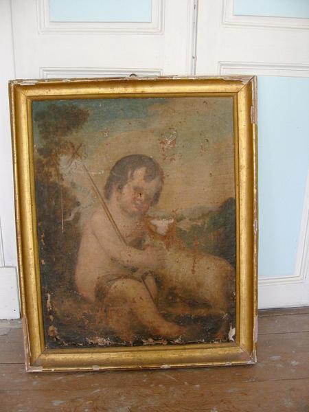 Tableau : Agnus Dei (conservé à la mairie de Mussy-sur-Seine)