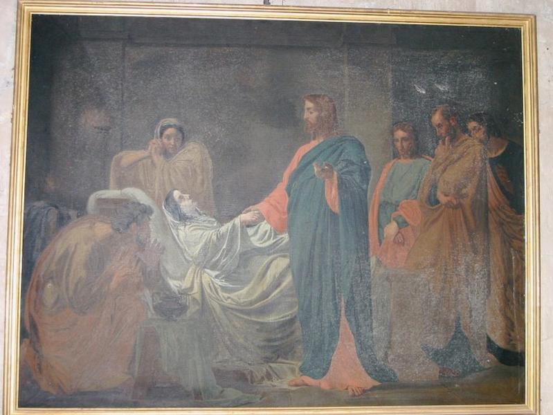 2 tableaux : Résurrection de la fille de Jaïre, Résurrection de Lazare