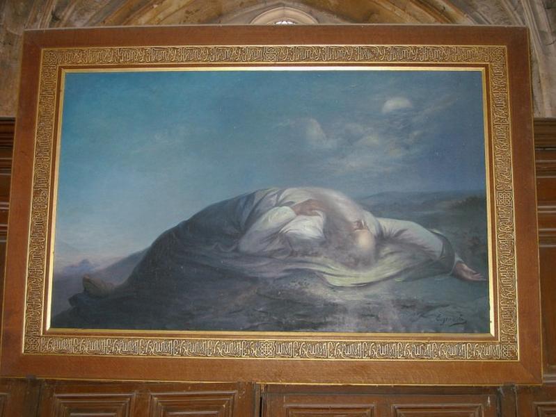 Tableau : Moïse mourant en vue de la terre promise