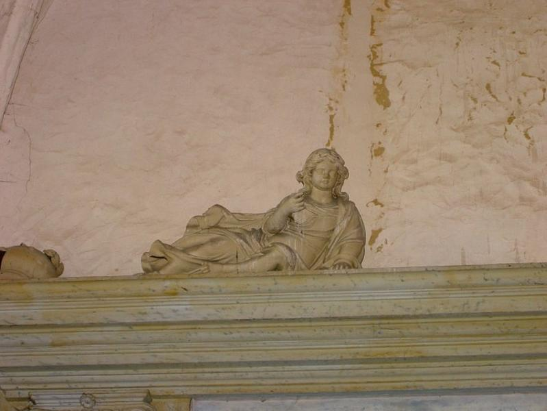 2 statues : Anges