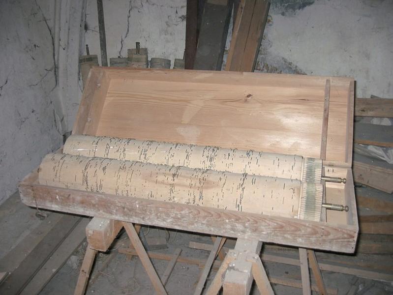 Orgue mécanique (cylindres)