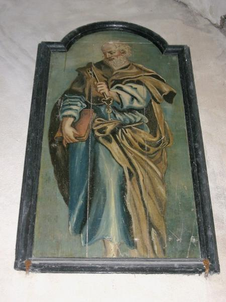 Panneau peint : Saint Pierre, saint Paul