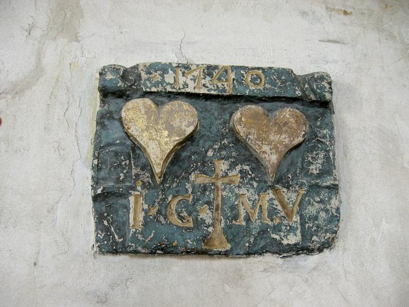Plaque commémorative (?)