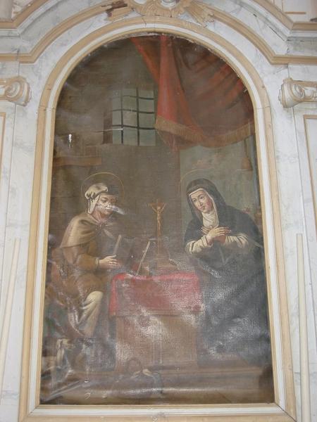Tableau : Sainte Brigitte