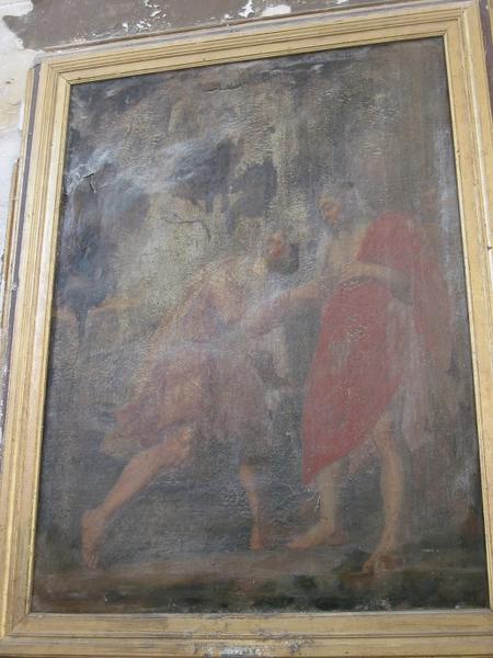 Tableau d'autel : Incrédulité de saint Thomas