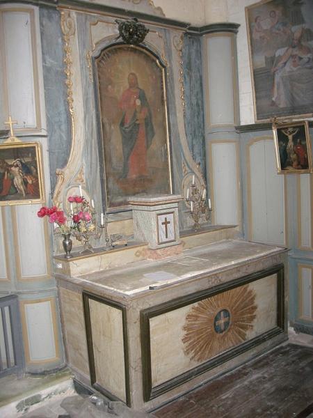 Retables des autels latéraux