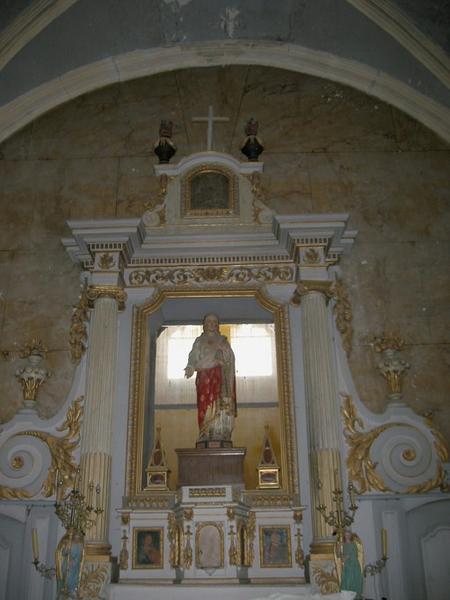 Retable et tabernacle du Maître-autel