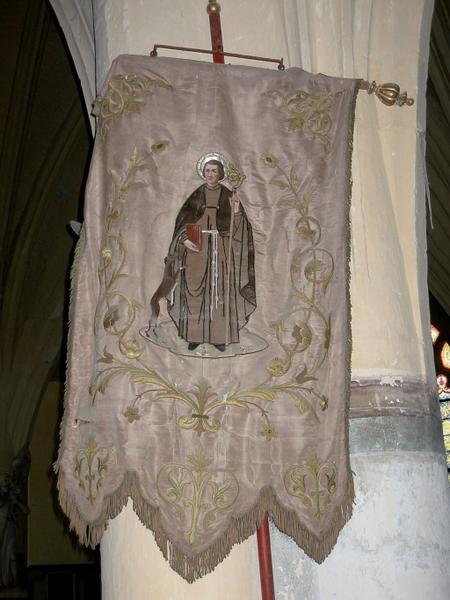Bannière de procession de saint Gilles