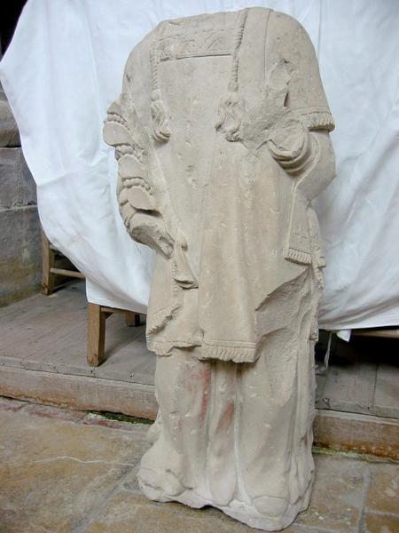 Statue : Diacre martyr