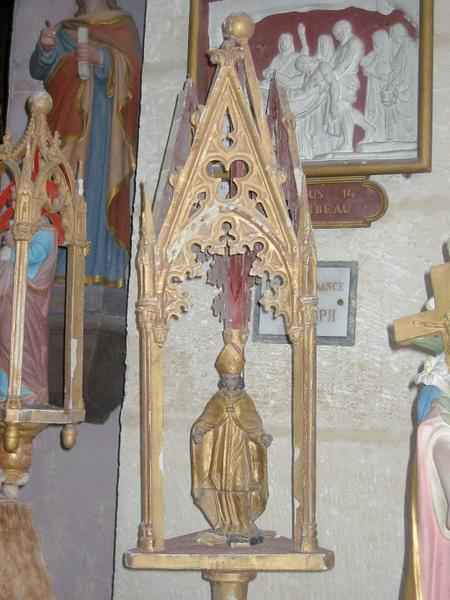 Bâton de procession de confrérie : Saint Symphorien (?)